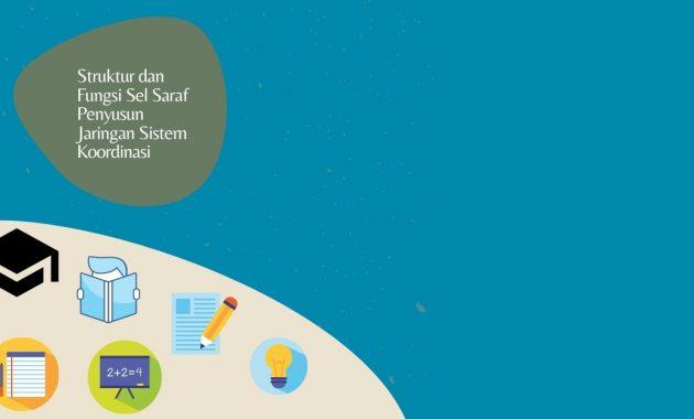 Struktur dan Fungsi Sel Saraf Penyusun Jaringan Sistem Koordinasi