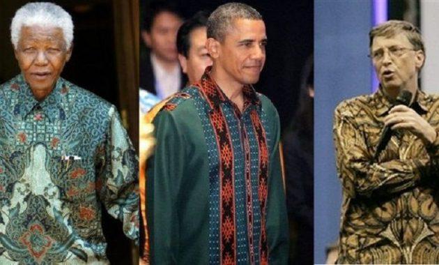 Batik sebagai warisan nenek moyang