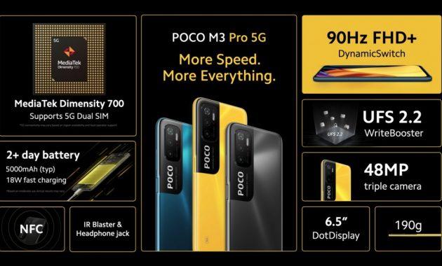 Poco M3 Pro Harga dan Spesifikasi Terbaru