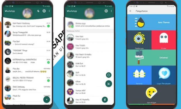 Fitur-Fitur Aplikasi Chatting Whatsapp Aero